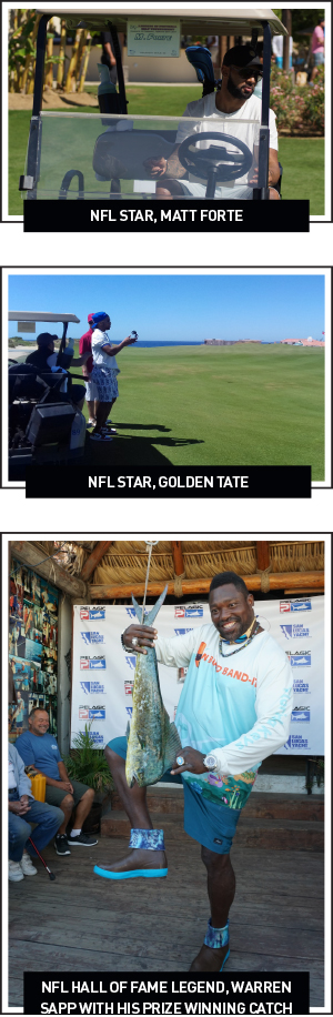 NFL Stars Blitz Baja
